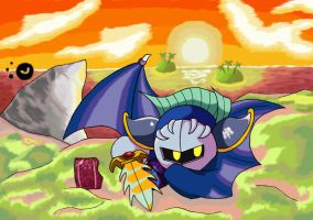 The Chivalrous Meta Knight by ChronoWeapon