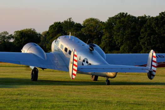 Beech D.18S Expeditor by Daniel-Wales-Images