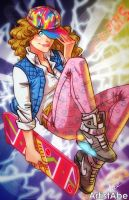 Back to The Future Jennifer by ArtistAbe
