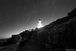 Point Lonsdale Star Trails by DanielleMiner