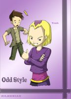 Odd Before Lyoko's Style by Zilkenian