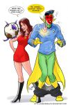 TLIID 157. Kitty Pryde and the Vision. by AxelMedellin