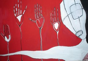 from the red  four hands by ori80it