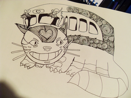 Cat Bus Outline - In progress by princerul