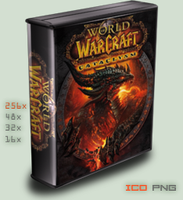 :case: World of Warcraft by foxgguy2001