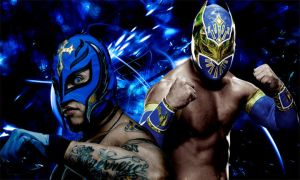 Rey Mysterio and Sin Cara by IGMAN51