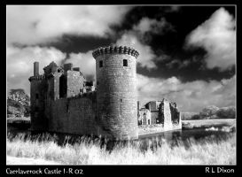 Caerlaverock castle rld ir 02 by richardldixon