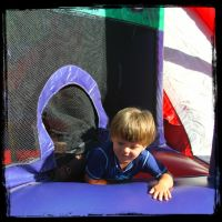 Bounce House by SnapColorCreations