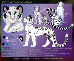 Snow reference sheet by JonyRichardson
