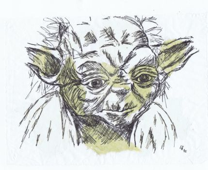 Yoda by Bluelisamh