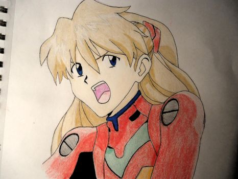 Asuka Langley Soryu by VoluminousWonder