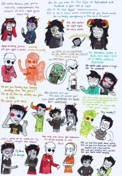Homestuck Quote Dump by MislamicPearl