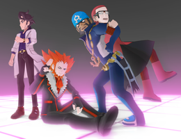 MMD Pokemon Men (HOLIDAY GIFT PART 2 DL) by animefancy-mmd