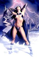 SDCC 2009 Print - Night Queen by mikemayhew