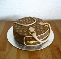 Louis Vuitton Cake by Naera