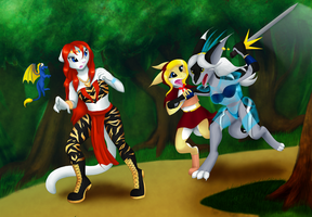 Commission - At the forest by NetsaTC