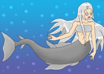 Mermaid from the Greenland Sea by KelekiahGaladrian