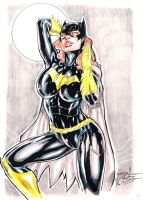 BatGirl color by JardelCruz