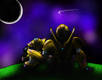 Moonrunner and Bumblebee by Emilly2
