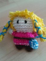 Amigurumi Zelda - Skyward Sword by crocheter