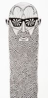 The Art of Mulga - Drawing of Longbeard the  bald  by MulgaTheArtist