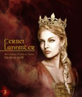 Queen Regent Cersei Lannister by JohnnyClark
