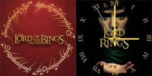 Lord of the Rings Watch face - Samsung Galaxy Gear by raging-onion