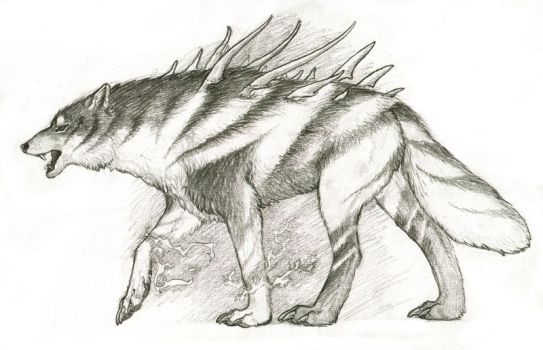 Voltaicwolf by KaiserFlames