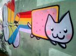 T-Up 28 - Nyan cat Graffiti! (2) by ShinodaGE