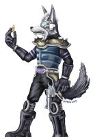 Wolf O'Donnell by Rarzy