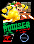 Super Bowser Game Cover by BennytheBeast