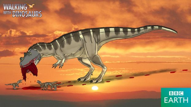 Walking with Dinosaurs: Ceratosaurus by TrefRex
