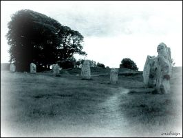 Burried under a standing stone... by ansdesign