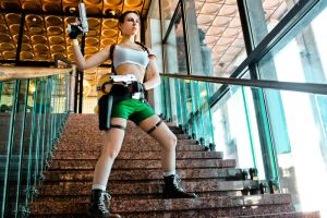 Lara Croft cosplay - Kyiv ComicCon 7 by TanyaCroft