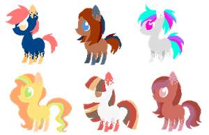 MLP Inky Breedable Adopts- CLOSED by Cashmere-Cuddles