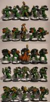 Salamanders: Heavy Weapon Squad by TheBl4ckCat