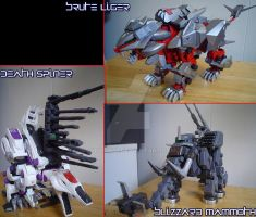 Various Zoid 3 by Juno-Uno
