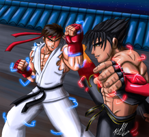 Ryu vs Jin by Odin787