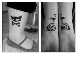 Few Tattoo Designs by mistie