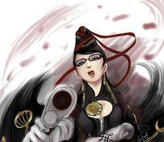 Bayonetta by The-Blue-Wind