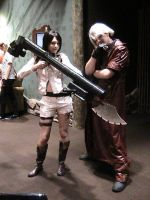 Lady and Dante Cosplay by Zombie-Necromancer23