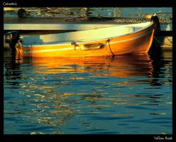 Yellow Boat by Cemetric