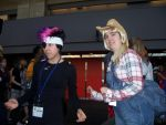 Twilight Sparkle and Applejack - Otakuthon 2014 by J25TheArcKing