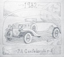 1932 BA Confederate by dieselart