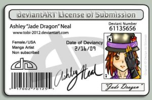 DeviantART License by tobi-2012