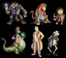 Doctors With Character by WildDogChild