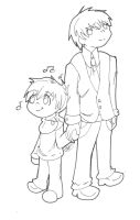 Nonsurat and Arthur More Father Son~ by SweetPops05