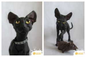 5/5 Sphynx Cat by limitlessendeavours by ArtDollCritique