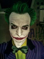 Joker Arkham Asylum Cosplay Test by AlexWorks