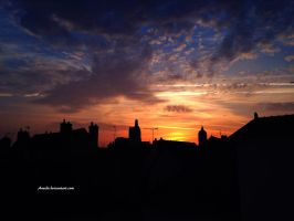 Another Morning For City by Aneede